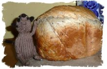 Seeded loaf with meerkat guardian